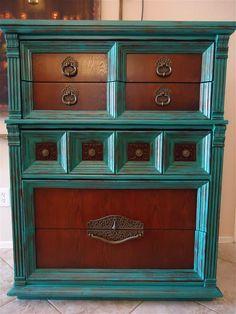Spanish vintage dresser