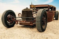 Rat Rod. When trash meets art and beauty.