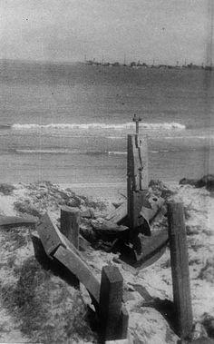 Omaha Beach, German beach obstacles