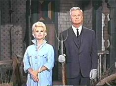 Green Acres was a rural sitcom that aired from 1965-1971 on CBS. Eddie Albert and Eva Gabor were Attorney Oliver Wendell Douglas and his socialite wife Lisa. The comedy ensues when Oliver decides to give up his lucrative NYC law practice and buy a run down farm in Hooterville!