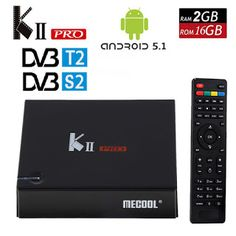 KII Pro Android 5.1 smart TV Box 2G/16G DVB-S2 DVB-T2 4K2K Amlogic S905 Quad-core WIFI KIIpro Smart Media Player Set Top Box (32747398452)  SEE MORE  #SuperDeals