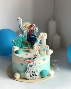 Queens Birthday Cake, Frozen Birthday Cake, Frozen Cake, Queen Birthday, 7 Cake, Cake Cookies, Cake Images, Cake Pictures, Alphabet Cake