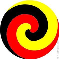 круги для демонстрации оптических иллюзий