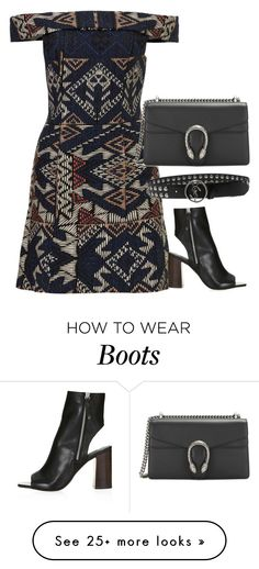 """""""Untitled #2754"""" by erinforde on Polyvore featuring Topshop and Yves Saint Laurent"""