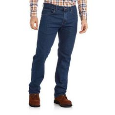 Genuine Dickies Big Men's Performance Flex 5-Pocket Jean, Size: 44 x 30, Gray