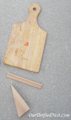Our Thrifted Nest: DIY Kitchen Tablet Holder