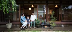 Garden, edge side and lighting The serenity of Japanese houses that are familiar with modern times