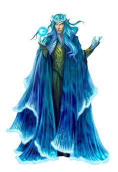 Fey Prince Ulorian - Pathfinder PFRPG DND D&D d20 fantasy