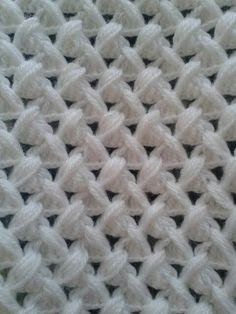 This Pin Was Discovered ByDiscover thousands of images about My DIY crochet pattern Crochet Cluster Stitch, Crochet Crocodile Stitch, Tunisian Crochet, Filet Crochet, Easy Crochet, Crochet Baby, Crochet Stitches Patterns, Knitting Stitches, Stitch Patterns