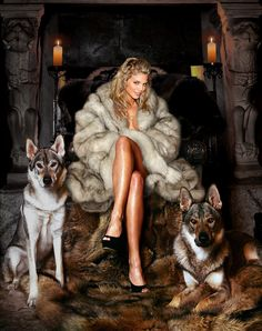 "wolfinskin: "" AnnaLynne McCord: – Oh, they're harmless as long as you do what you're told. """