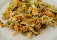 Salada Morna de Feijão Branco