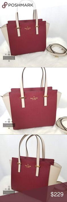 0a8e85080da9 Kate spade Small Hayden Cedar Street Satchel Bag Kate Spade handbag Small  Hayden Cedar Street Crisp