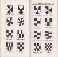 Figures de l'héraldique – Index Grafik Game Design, Logo Design, Graphic Design, Family Shield, Brand Icon, Family Crest, Crests, Coat Of Arms, Archery