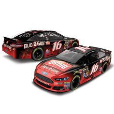 Greg Biffle Action Racing 2015 #16 Ortho Bug B Gon 1:24 Scale Platinum Die-Cast Ford Fusion