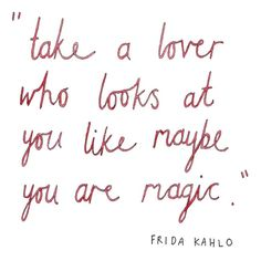 You are magical!