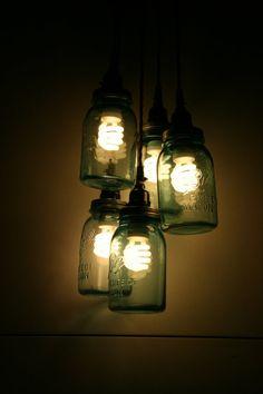 LOVING THIS IDEA!!! diy pendant light - Google Search