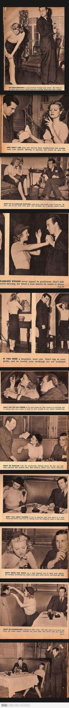 Vintage tips for women