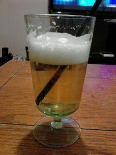 Beer with margarita salt! The best ever!