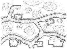 Trenches War, Kosmic Dungeon, rpg map