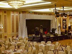 Venetian chair covers, stage backing, inflatable conhttp://www.theig.comes.  See more: