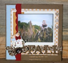 Scrapbook Layouts 8x8 Baby Book