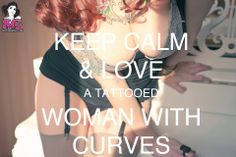 SG - Tattooed Women with Curves Beautiful Tattoos For Women, Beautiful Women, My Beauty, Beauty Women, Girl With Curves, Girls Rules, Keep Calm And Love, Inked Girls, Girl Tattoos