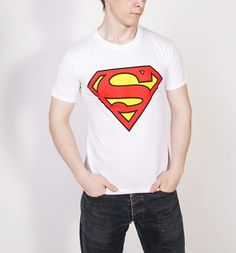 We're keeping it super classic on this #Superman logo #tshirt. Show off your Kent credentials and gain #superhero status in this awesome tee! #fashion #tee #hero #comic