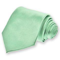 Seafoam Solid Color Necktie