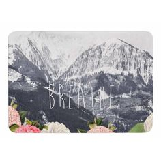 East Urban Home Breathe by Suzanne Carter Bath Mat