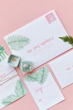 Ditch the Boring Bridal Shower and Plan a Tropical Bash! - http://www.stylemepretty.com/2016/06/15/inspiration-for-a-flirty-tropical-bridal-shower/