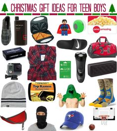 Christmas Gift Ideas For Teen Boys By Meg Duerksen Of Whatever Craft Blog