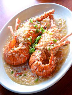 Baked Lobster in Rice Wine Sauce @ Beijing Kitchen