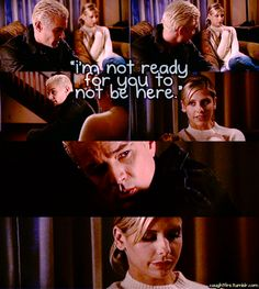 buffy the vampire slayer. I gotta be honest, I prefered Spike/Buffy to Buffy/Angel. Don't get me wrong I love Angel, he's one of my favorite characters, but Spike fights for Buffy more than Angel does, I think he deserves her more <3
