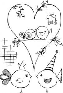 Squiggly Ink - Flora & Fauna 1