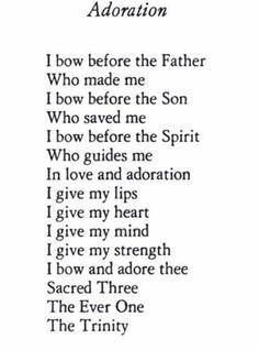 Adoration Saint Esprit, Catholic Prayers, Adoration Catholic, Catholic Gospel, Trinity Catholic, Catholic Hymns, Roman Catholic, Catholic Art, My Prayer