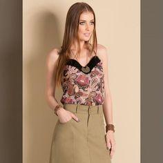 Perfeito não!!   BLUSA DE ALÇA ESTAMPA CASHMERE  COMPRE AQUI!  http://imaginariodamulher.com.br/look/?go=2iCohKp  #comprinhas #modafeminina#modafashion  #tendencia #modaonline #moda #instamoda #lookfashion #blogdemoda #imaginariodamulher