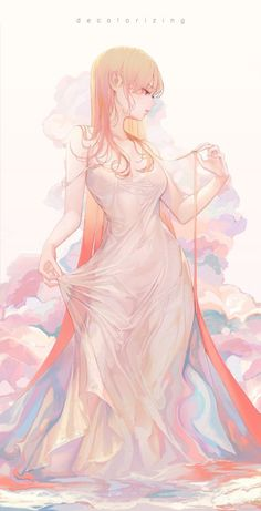Kai Fine Art is an art website, shows painting and illustration works all over the world. Chica Anime Manga, Kawaii Anime Girl, Anime Art Girl, Manga Art, Anime Girls, Anime Hand, Character Inspiration, Character Art, Estilo Anime