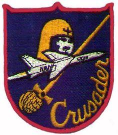 Emblema del F-8 Crusaider.