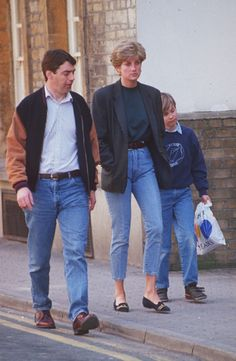 Looking Back at Princess Diana's Best Casual Denim Style