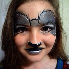 Australian inspired Koala face paint design. Designed and painted by Maddison Ashley / @maddysmojo