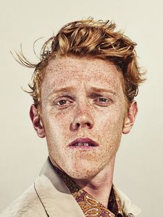 Billy Plummer (London born & based in Sydney), untitled. I just love freckles! Face Reference, Photo Reference, Foto Portrait, Portrait Photography, Pretty People, Beautiful People, Poses, Photographie Portrait Inspiration, Freckle Face
