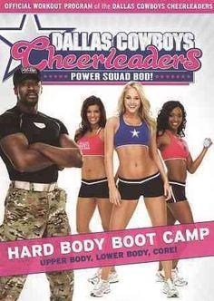 Paramount Studios Dallas Cowboys Cheerleaders Power Squad Bod!: Hard Body Boot Camp