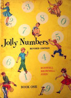 Vintage School Arithmetic Book Jolly Numbers