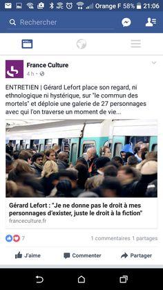Gérard Lefort Personnage droit d'exister droit de fiction