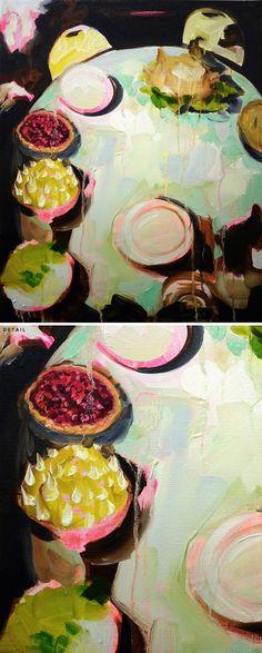 """""""tablescape"""" by elizabeth mcdonald"""