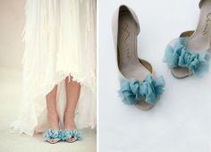 Дизайнерские свадебные туфли на заказ
