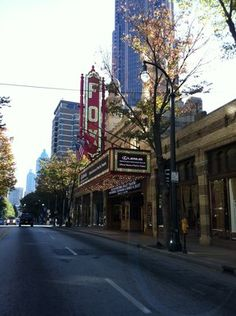Fox Theatre in Atlanta - near where I grew up and fell in love with theatre...seemed like an appropriate picture to represent Atlanta, Georgia!