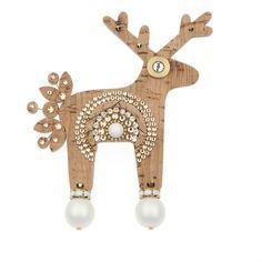 Jelení šperky - Korkýn Christmas Ornaments, Holiday Decor, Design, Home Decor, Xmas Ornaments, Homemade Home Decor, Decoration Home, Room Decor, Christmas Jewelry
