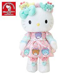 Mimmy Plush Doll 40th Anniversary Tiny Chum HUG Plush Doll Mimmy Hello Kitty SANRIO JAPAN
