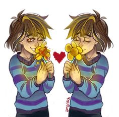 I played Undertale and really liked it! Both genocide and pacifist run are pretty heartwrenching in their own ways. OTL Here's a speedpaint video to go along: